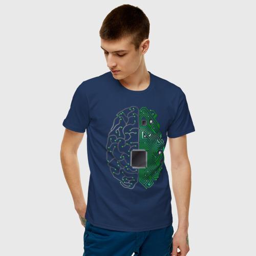 Мужская футболка хлопок Программист Фото 01