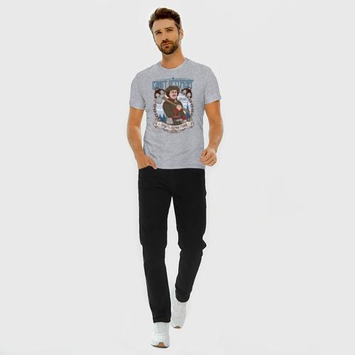 Мужская футболка хлопок Slim Санкт-Петербург Фото 01