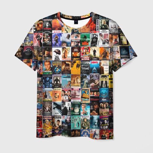 Мужская футболка 3D Постеры фильмов XXL