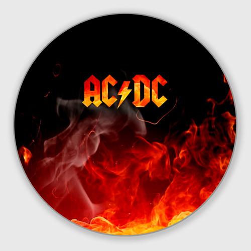 Коврик для мышки круглый AC/DC Фото 01