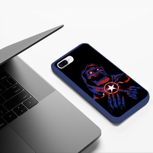 Чехол для iPhone 7Plus/8 Plus матовый Skull Sum41 Фото 01