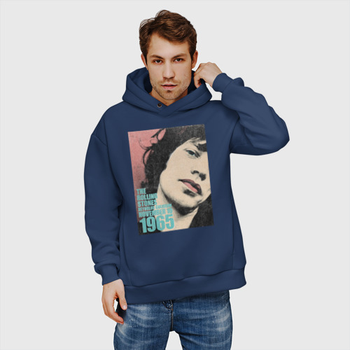 Мужское худи Oversize хлопок Mick Jagger Фото 01