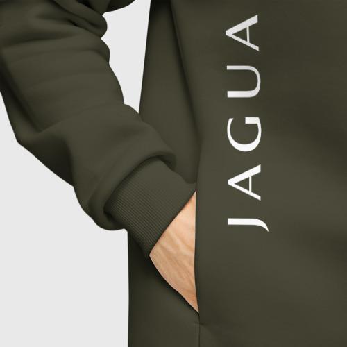 Мужское худи Oversize хлопок Jaguar | Ягуар Фото 01
