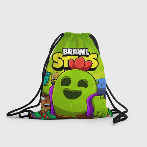Рюкзак-мешок 3D BRAWL STARS SPIKE Фото 01