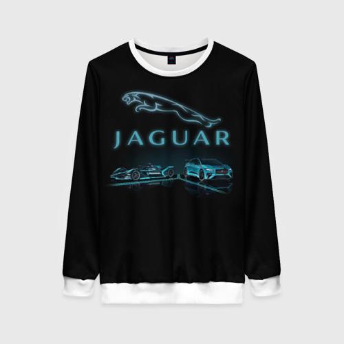 Женский свитшот 3D Jaguar   Ягуар Фото 01