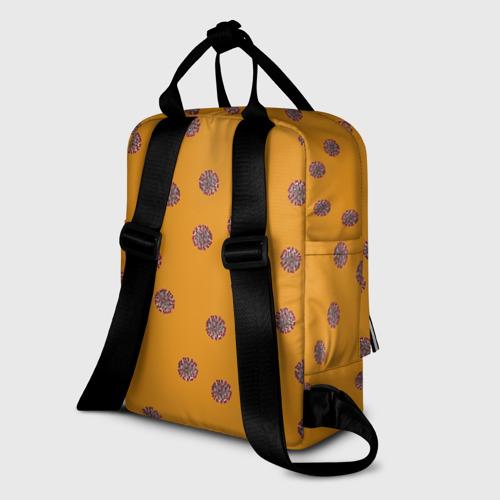 Женский рюкзак 3D CoronaVirus Фото 01