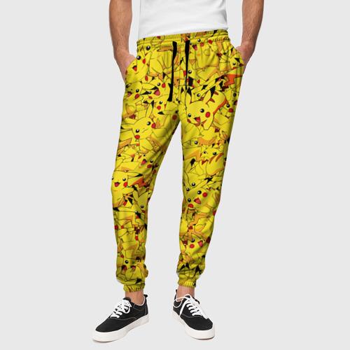 Мужские брюки 3D Пикачу Фото 01