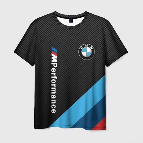 Мужская футболка 3D BMW M PERFORMANCE  Фото 01