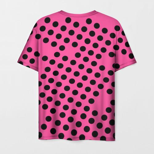 Мужская футболка 3D rolling stones pink logo Фото 01