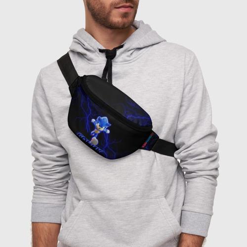 Поясная сумка 3D СОНИК. Фото 01