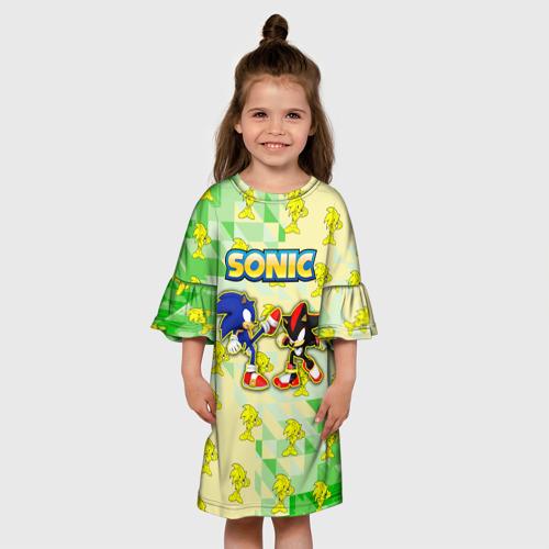 Детское платье 3D sonik 86 фото