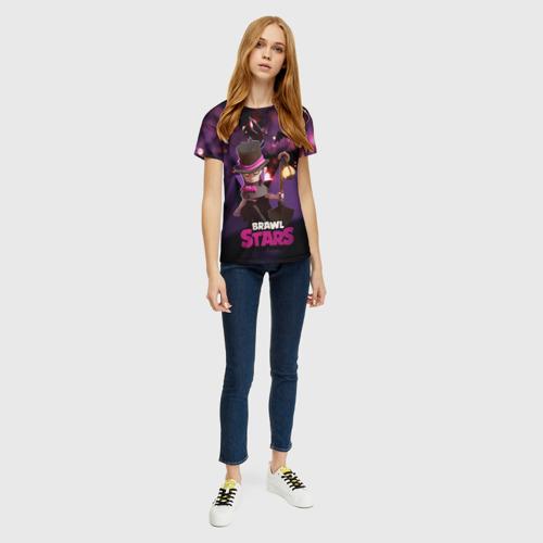 Женская футболка 3D Brawl stars Mortis Мортис Фото 01