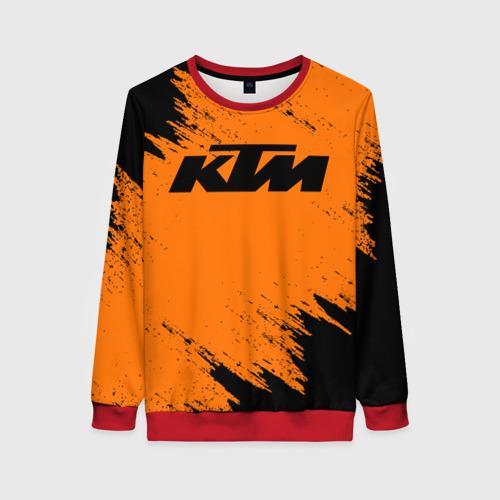 Женский свитшот 3D КТМ   KTM (Z) Фото 01