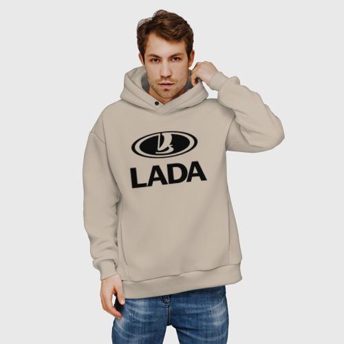 Мужское худи Oversize хлопок Lada | Лада Фото 01