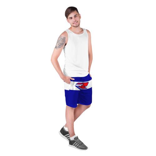 Мужские шорты 3D SUZUKI MOTO SPROT   СУЗУКИ МОТО СПОРТ (Z) Фото 01