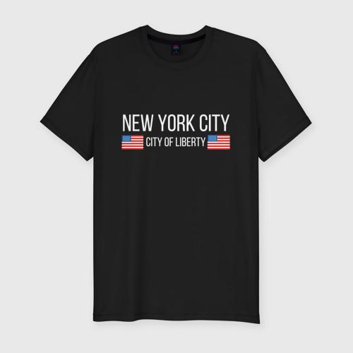 Мужская футболка премиум NEW YORK Фото 01
