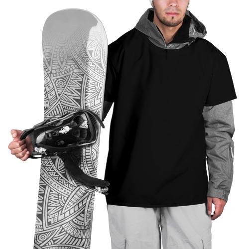 Накидка на куртку 3D ЧЁРНАЯ МАСКА Фото 01