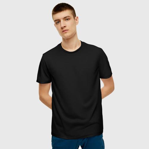 Мужская футболка 3D ЧЁРНАЯ МАСКА Фото 01