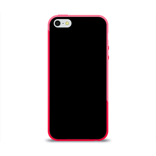 Чехол для iPhone 5/5S глянцевый ЧЁРНАЯ МАСКА Фото 01