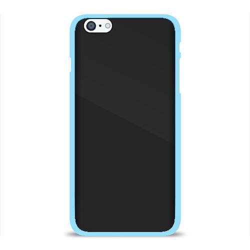 Чехол для iPhone 6Plus/6S Plus глянцевый ЧЁРНАЯ МАСКА Фото 01