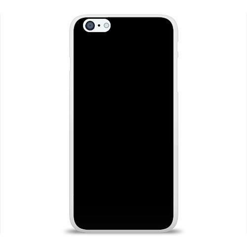 Чехол для iPhone 6/6S Plus глянцевый ЧЁРНАЯ МАСКА Фото 01