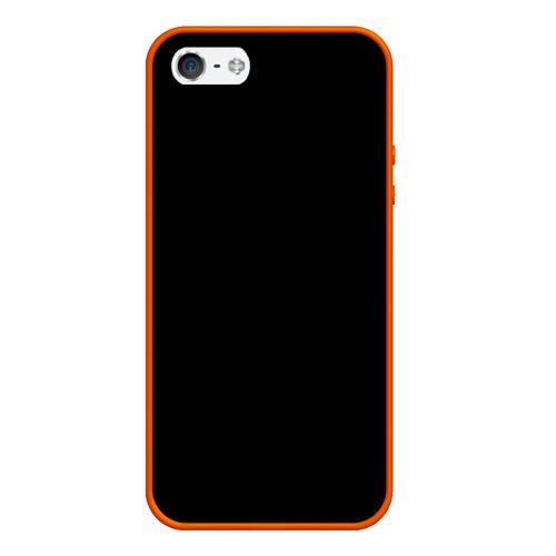Чехол для iPhone 5/5S матовый ЧЁРНАЯ МАСКА Фото 01