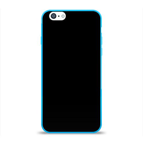 Чехол для iPhone 6/6S глянцевый ЧЁРНАЯ МАСКА Фото 01