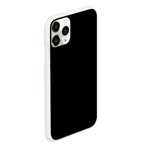 Чехол для iPhone 11 Pro матовый ЧЁРНАЯ МАСКА Фото 01