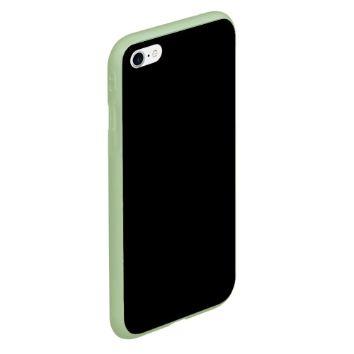 Чехол для iPhone 6/6S Plus матовый ЧЁРНАЯ МАСКА Фото 01