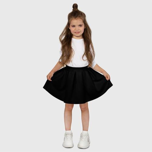 Детская юбка-солнце 3D ЧЁРНАЯ МАСКА Фото 01