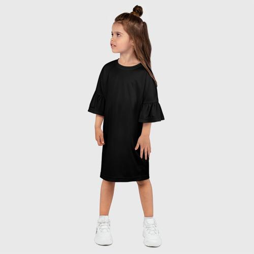Детское платье 3D ЧЁРНАЯ МАСКА Фото 01
