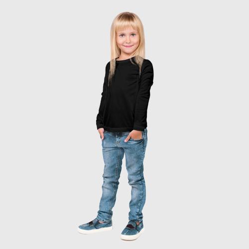 Детский лонгслив 3D ЧЁРНАЯ МАСКА Фото 01