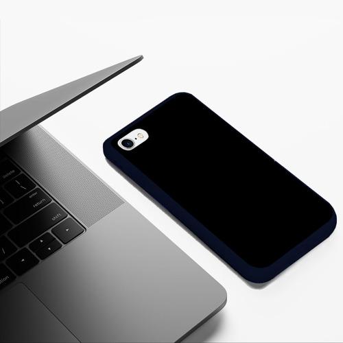 Чехол для iPhone 6Plus/6S Plus матовый ЧЁРНАЯ МАСКА Фото 01