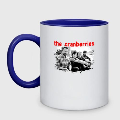 Кружка двухцветная The Cranberries Фото 01