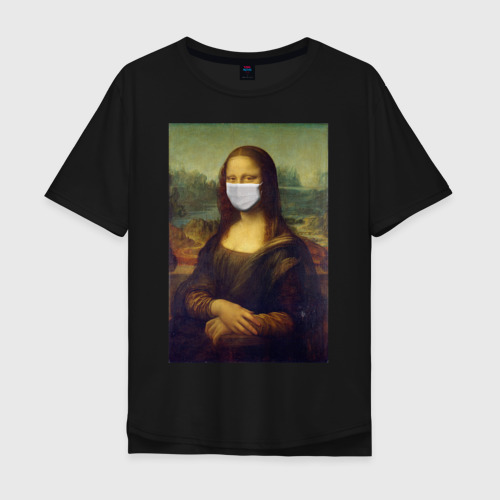 Мона Лиза в медицинской маске