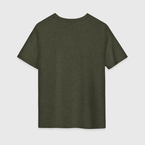 Женская футболка хлопок Oversize Devil's Trap (White) Фото 01
