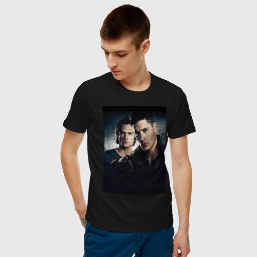 Мужская футболка хлопок Winchester Brothers Фото 01