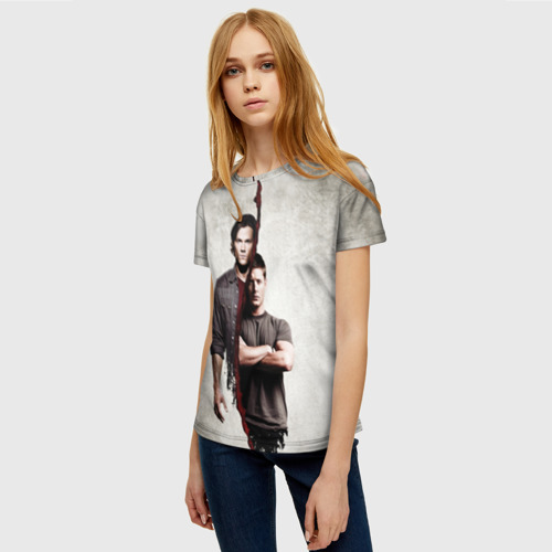 Женская футболка 3D Winchester Brothers Фото 01