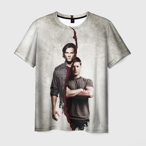 Мужская футболка 3D Winchester Brothers Фото 01