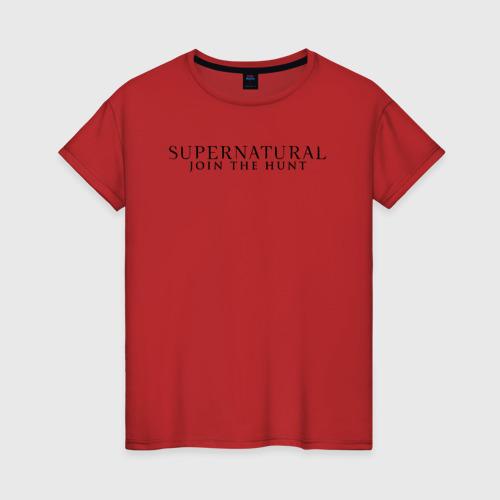 Женская футболка хлопок Supernatural Angel Wings XL
