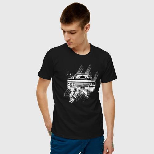 Мужская футболка хлопок Импала Фото 01