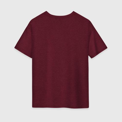 Женская футболка хлопок Oversize Impala Фото 01