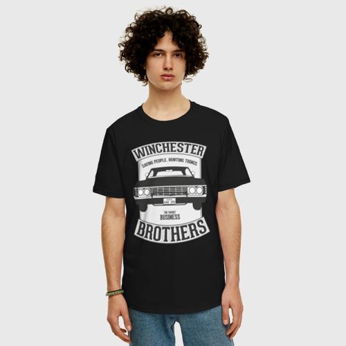Мужская футболка хлопок Oversize Impala Фото 01