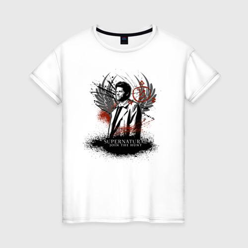 Женская футболка хлопок Castiel Фото 01
