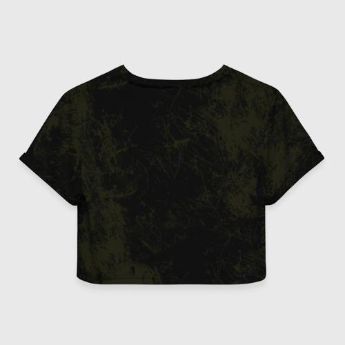 Женская футболка Crop-top 3D Winchester Bros. Фото 01