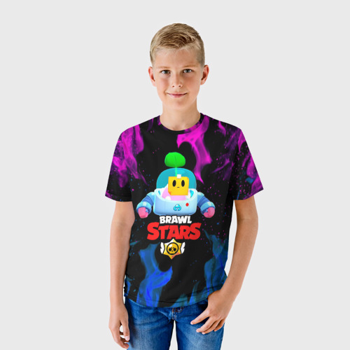 Детская футболка 3D BRAWL STARS (SPROUT) [13] Фото 01