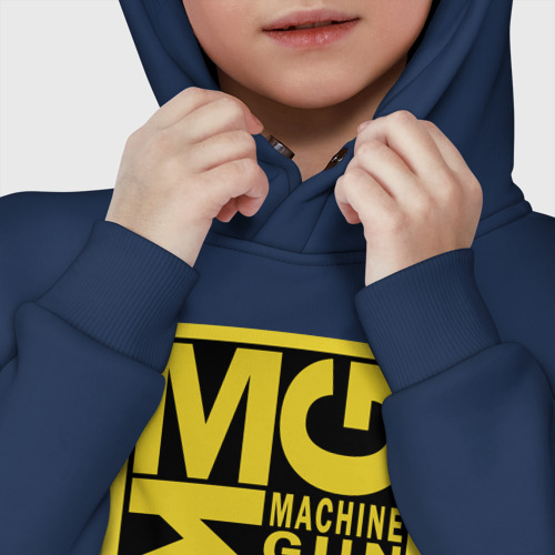 Детское худи Oversize хлопок MGK Machine Gun Kelly Фото 01