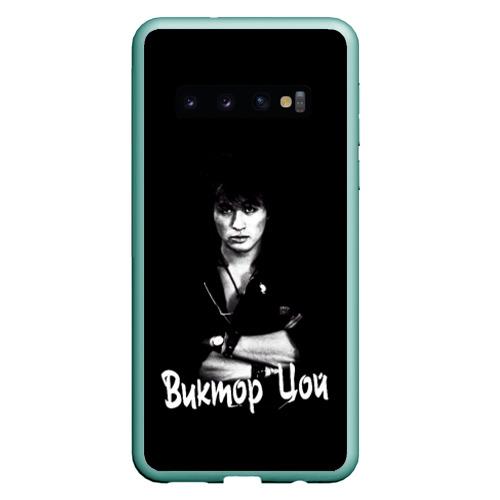 Чехол для Samsung Galaxy S10 ВИКТОР ЦОЙ Ч\Б Фото 01