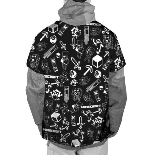 Накидка на куртку 3D Minecraft pattern Фото 01