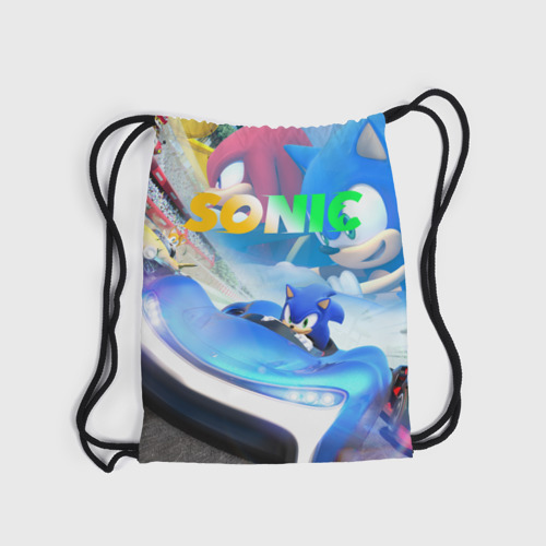 Рюкзак-мешок 3D SONIC RACER Фото 01